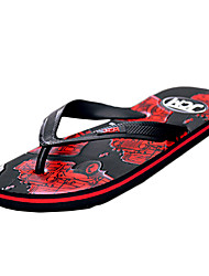 Men's Shoes Casual PU Sandals Red / Silver / Gold