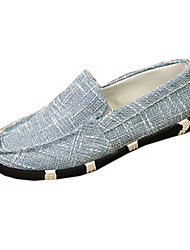 Men's Spring / Fall Comfort Fabric Outdoor / Casual Flat Heel Others Black / Blue / Navy Walking