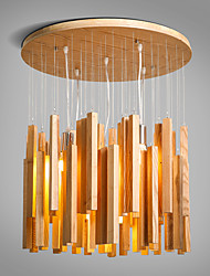 New Modern Contemporary  Decorative Design Wooden Ceiling Light/ Dinning Room/Living Room/Bedroom Chandelier