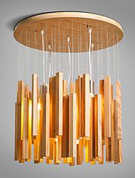 MAX 40W Plafond Lichten & hangers ,  Hedendaags / Landelijk Schilderen Kenmerk for Ministijl Hout/bamboeWoonkamer / Slaapkamer / Eetkamer