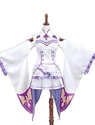 Inspiré par Autres Autres Anime Costumes Cosplay Costumes Cosplay / Robes Couleur Pleine / ImpriméJupe / Robe / Col / Bas / Plus