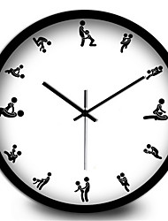 Sexy Adult Ml Home Decoration Living Room Bedroom Silent Wall Clock