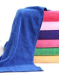 """1 Piece Microfiber Hand Towel 11"""" by 27"""" Solid Pattern Super Soft High Adsorption Capacity"""