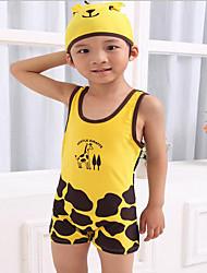 Boy Polyester Swimwear,Summer Sleeveless