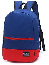 Unisex Sports / Outdoor Nonwoven Zipper Backpack