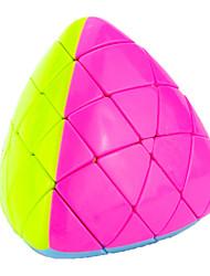 Yongjun® Hladký Speed Cube Pyramorphix profesionální úroveň Magické kostky Orange Plast