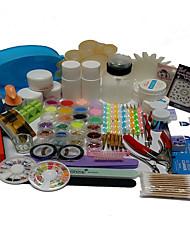 53 Sets Nail Kit Nail Art Decoration Accessories Nail DIY Nail Polish Kit