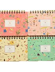 Creative Weekly Planning Notebook(Random Colors)