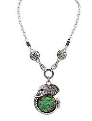 Retro Fashion Elephant Necklace Fine Jewelry