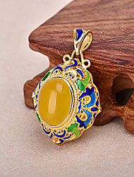 Women's Golden Pendant 1PC for Necklace Jewelry