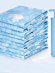 Vakuum Kleidung Quilt Kompression verdickte 12 Draht Aufbewahrungstasche (große 100x70cm 5-teilig 1 Handpumpe)