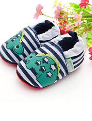 Para NiñoPrimeros Pasos / Zapatos de Cuna-Bailarinas-Exterior / Casual-Tejido-Verde Oscuro