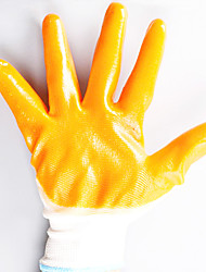 Protective Work Hanging Plastic Adhesive Soft PVC Adhesive Wear Hand Gloves