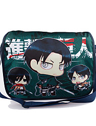 Bag Inspired by Attack on Titan Cosplay Anime Cosplay Accessories Bag / Backpack Black Nylon Male / Female