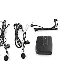 moto casque de moto système de communication intercom casque 2-way + écouteur