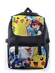 Pokemon backpack Pikachu bag Cartoon backpack