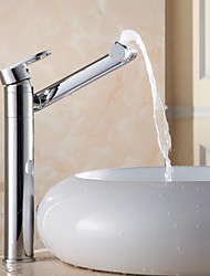 Contemporary Personalise 360° Multifunction Rotatable Chrome Finish Brass Faucet - Silver