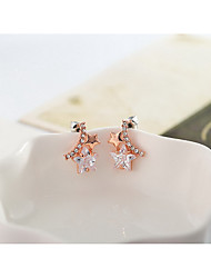 Stud Earrings Alloy Fashion Star Jewelry Golden Jewelry Daily Casual 1pc