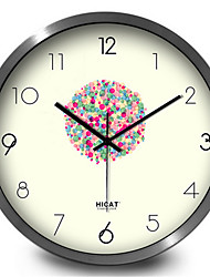 Personality Classic Color Balloon Home Decorative Silent Quartz Wall Clock