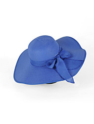 2016 Korea Beach Hat Bow Ribbon