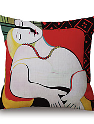 Cotton/Linen Pillow Case,Geometric / Graphic Prints Traditional/Classic / Modern/Contemporary / Casual