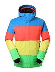 gsou neve cores sortidas marca de topo / outdoor snowboard jaqueta de esqui / ski-homens desgaste wearable térmica