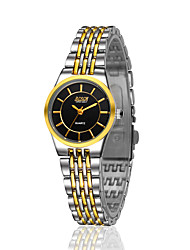 дамы и любителей сплава с золотым ультратонкие моды случайные часы