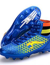 Men's / Women's / Boy's / Girls/ Unisex Shoes Synthetic Athletic Shoes Soccer Lacing Black / Blue / Gold