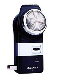 Elektrorasierer Herren Gesicht Elektrisch LED-Lampe Edelstahl SID