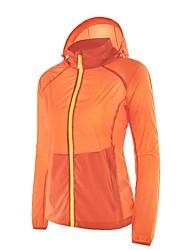 Camel Women's Super Lightweight Jacket Windbreaker Waterproof Sun Protection Quick Dry Skin Coat
