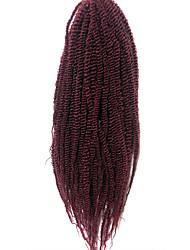 Crochet Braid Hair Senegalese Twist 14 Inch Kanekalon Braiding Hair Synthetic Braiding Hair Extensions Curly