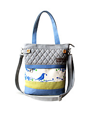 Flower Princess® Women Canvas Shoulder Bag Blue-D120139DF