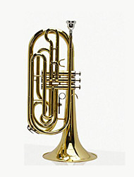 Gold Paint Marching Trombone
