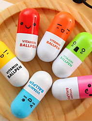 Special Cartoon Pills Telescopic Ball-Point Pen