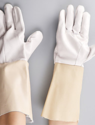 Drivers Wear Yellow Gloves Welding Heat Insulation Industrial Protective Gloves
