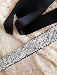 Bridal pearl belt