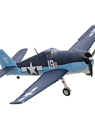 Dynam F6F Hellcat 1:8 Brushless Electric 50KM/H RC Airplane 5ch 2.4G EPO Black&Blue RTF