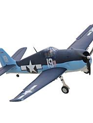 Dynam F6F Hellcat 1:8 Electrico sem Escovas 50KM/H Quadcóptero RC 5 canais 2.4G EPO Black&Blue Alguma montagem necessária