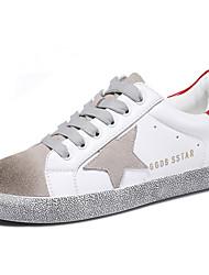 Da donna-Sneakers-Casual / Sportivo-Comoda-Piatto-Sintetico-Bianco