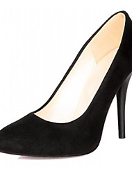 Women's Shoes Leatherette Spring / Summer / Fall Heels Heels Office & Career / Dress / Casual Stiletto Heel Rhineston