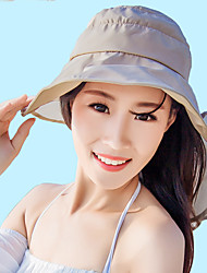 Summer Beach Pure Color Prevented Bask in Outdoor Sports Hat