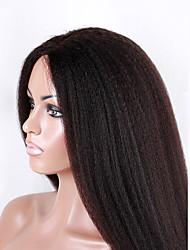 evawigs non transformés cheveux humains brazilian afro crépus droite perruque complète avec des cheveux de bébé