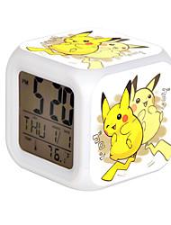 Cartoon Pet Colorful Luminous Alarm Clock-15#