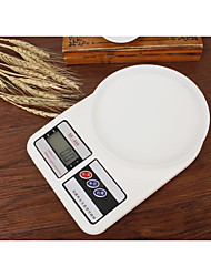 precisie elektronische huishoudelijke keukenweegschaal (1g-5kg licht)