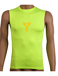 Running Sweatshirt / Compression Clothing / Tank Men's Sleeveless Breathable / Quick Dry / Compression / Sweat-wicking Fitness / Running
