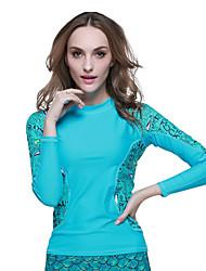 SBART Femme Combinaisons Tenue de plongée Compression Costumes humides 1.5 à 1.9 mm Bleu S / M Plongée