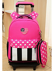 Unisex Oxford Cloth Casual Backpack Pink / Blue / Fuchsia