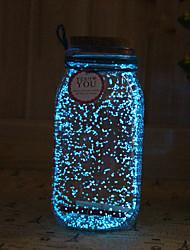 1pc Solar noctilucence Nachtlicht artware tampion wünschen Flasche Nachtlicht