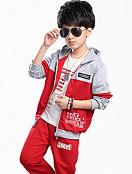 Boy's Cotton Clothing Set,Summer Print