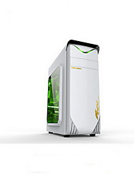 USB2.0 DIY Computer Case Support ATX White